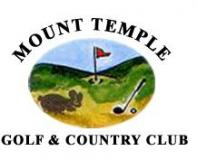 Mount Temple Golf Club  标志