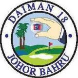 Daiman 18 Golf Club  Logo