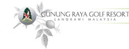 Gunung Raya Golf Resort  Logo