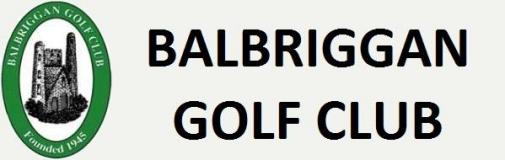 Balbriggan Golf Club  Logo