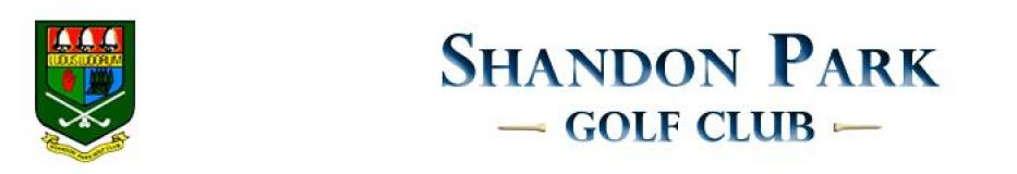 Shandon Park Golf Club  标志