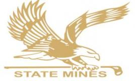 State Mines Country Club 标志