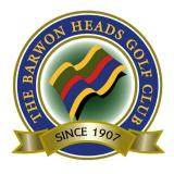 The Barwon Heads Golf Club Logo