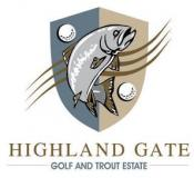 Highland Gate Golf & Trout Estate  Logo