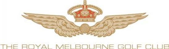 Royal Melbourne Golf Club (West Course)  Logo