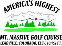 Mt. Massive Golf Course Logo
