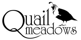 Quail Meadows Golf Course  Logo
