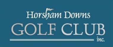 Horsham Downs Golf Club  Logo